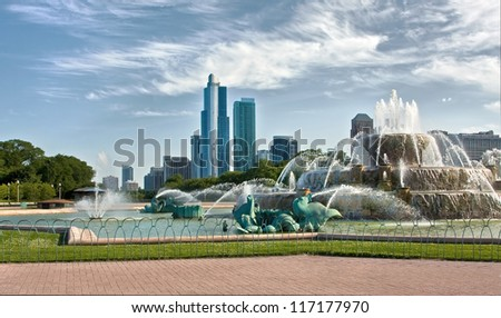 Clarence Buckingham Fountain, Chicago