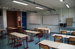 Class in a French high school