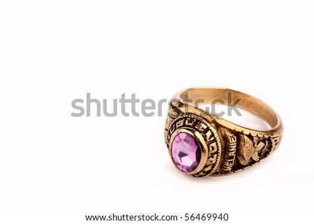 Class ring or graduation ring