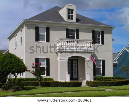 American dream house white picket fence dream house for American dream homes