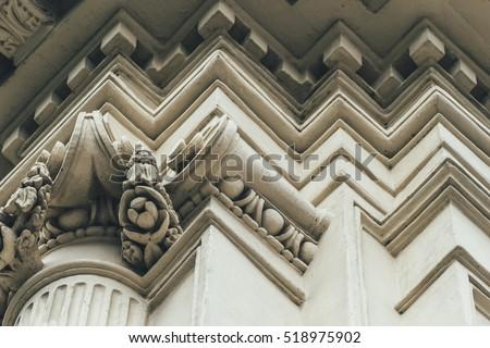 classic architecture. exterior...