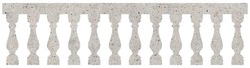 Classic balustrade - seamless pattern concept image on concrete background usefull for rendering.