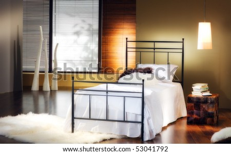Classic Bedroom Interiors Stock Photo 53041792 : Shutte