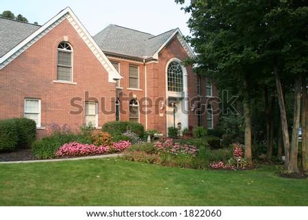 classic brick home