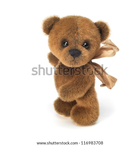 Classic brown teddy bear