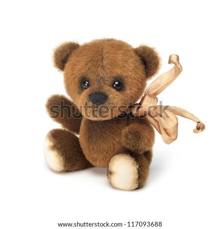 Classic brown teddy bear