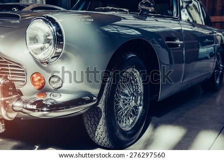 """stock photo classic car 276297560 - Каталог - Фотообои """"Автомобили"""""""
