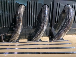 classic car exhaust system and headers