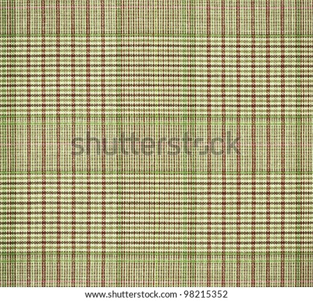 Classic checkered textile, highly detailed