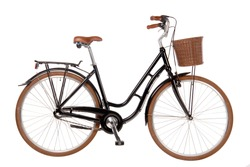 Classic City Bike Isolated Image bicycle