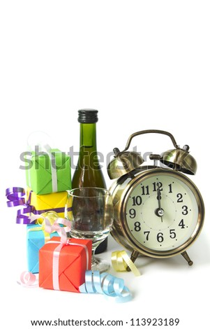Classic clock is ticking down to midnight celebration