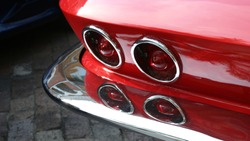 Classic Corvette Tail Lights