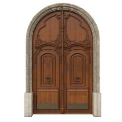 Classic door for beautiful houses