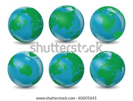 Classic Earth Globes