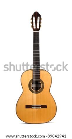 Classic guitar - stock photo
