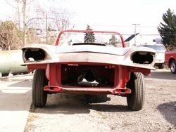 classic junk car