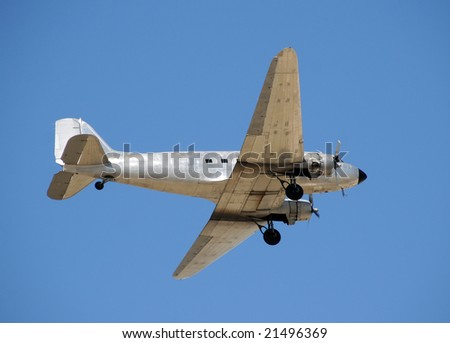 Classic lines from the Golden age of aviation