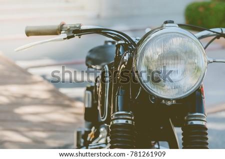 Classic Motorcycle Headlamps Ez Canvas