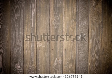 Classic old wood wall texture background