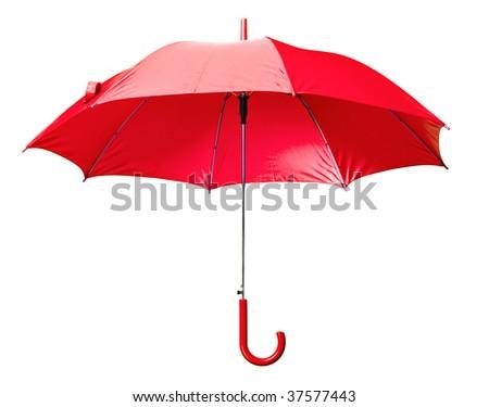 Classic Red Umbrella