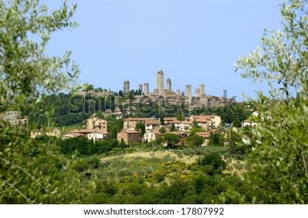 Classic Tuscany Village - San Gimignano