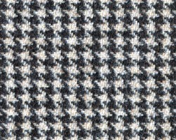 Classic tweed, Wool Background Texture. Coat close-up. Expensive men's suit fabric. Glenurquhart check is made of woolen fabric with a woven twill design of small and large checks. Houndstooth seamles