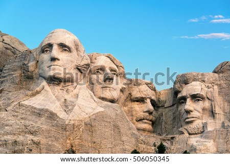 Classic view of Mount Rushmore #506050345