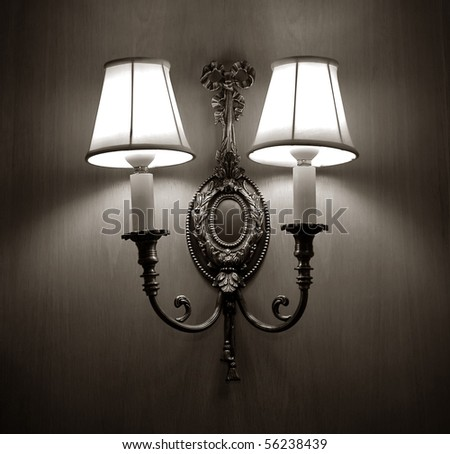 classic wall lamp