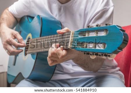 Classical Guitarist Stok fotoğraf ©