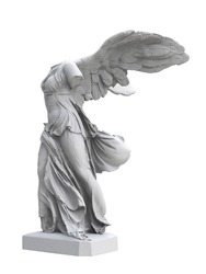 classical sculpture Winged Victory
