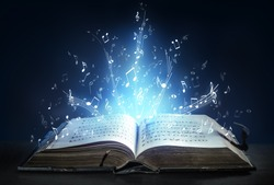 Classical Symphony Shines With Musical Notes From An Ancient Book Of Songs