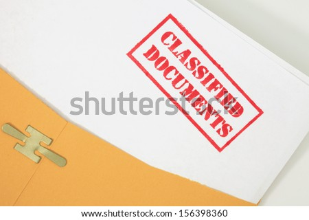 Classified Documents Folder