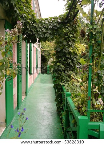 Claude Monet's House and Gardens in Giverny, France are open to a constant stream of more than 500,000 visitors during the seven months that it is open.