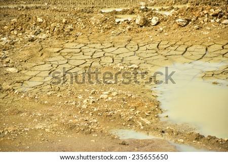 Clay mining #235655650