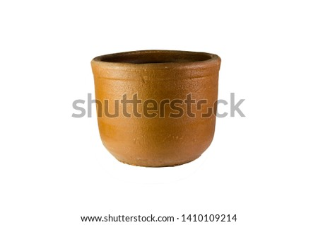 clay pots for flower pots handmade #1410109214