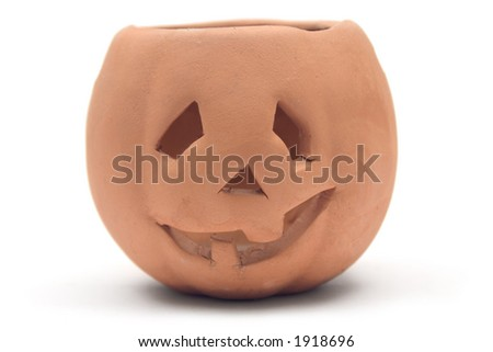 Clay Pumpkin
