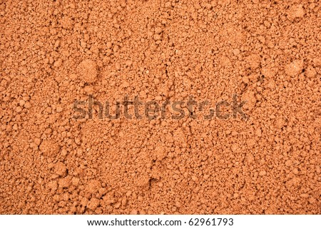 clay soil background
