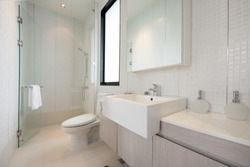 Clean and fresh bathroom