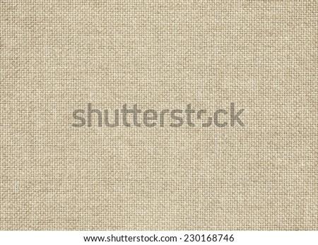Clean brown burlap texture. Woven horizontal fabric