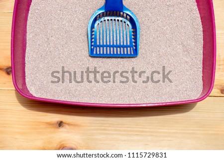 clean cat litter box