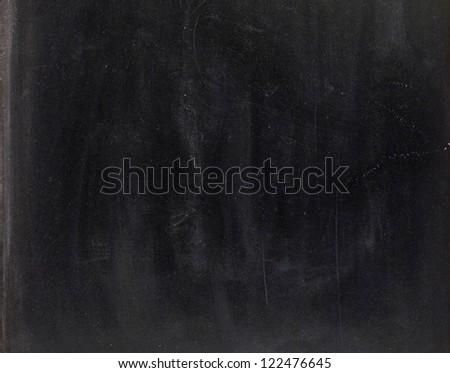 Clean chalk board  on white background