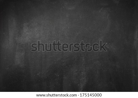 Clean chalk board  surface