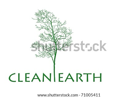 clean earth tree