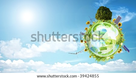 Clean environment concept banner - stock photo