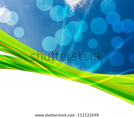 Clean Nature Abstract Background