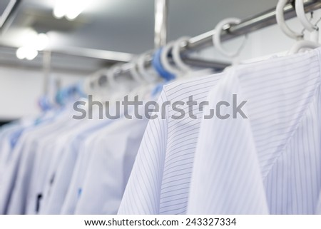 Clean room dress for factory
