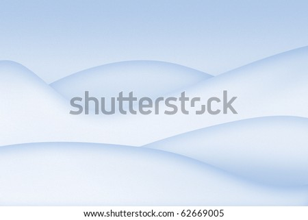 Clean simple snowy abstract background
