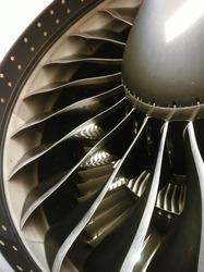 Clean turbo engine blades