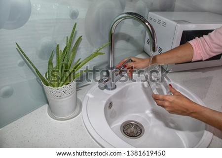 clean,wash and clean the kitchen #1381619450