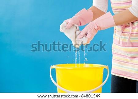 Clean wash rag